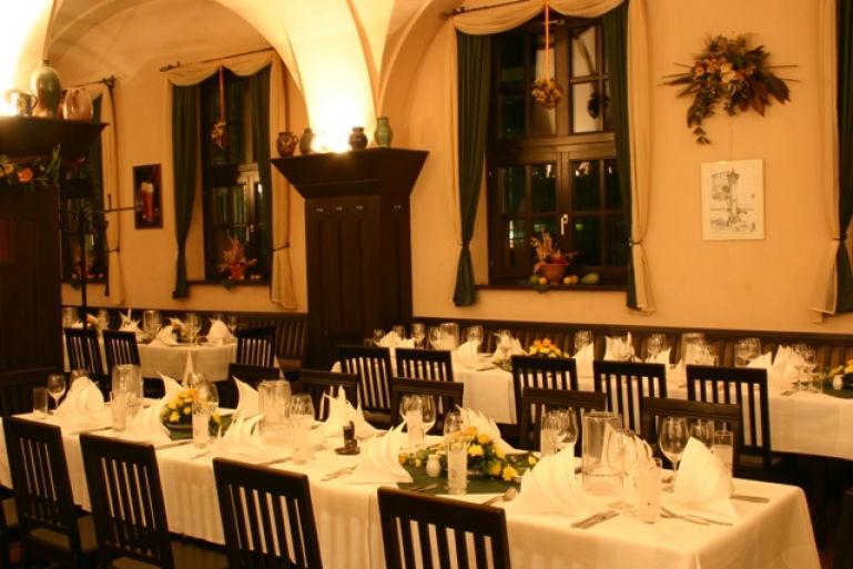Beispiel: Luthersaal, Foto: Thüringer Hof zu Leipzig.