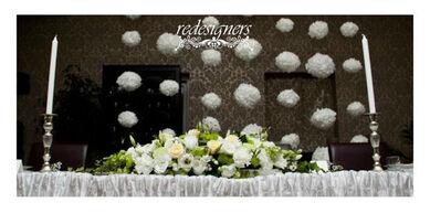 Reddesigners dekoracje weselne