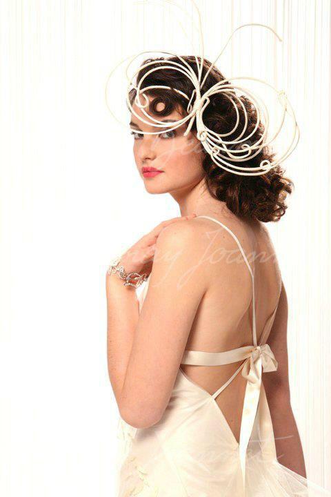 Beaumenay Joannet Paris - accessoire Coiffe papillon