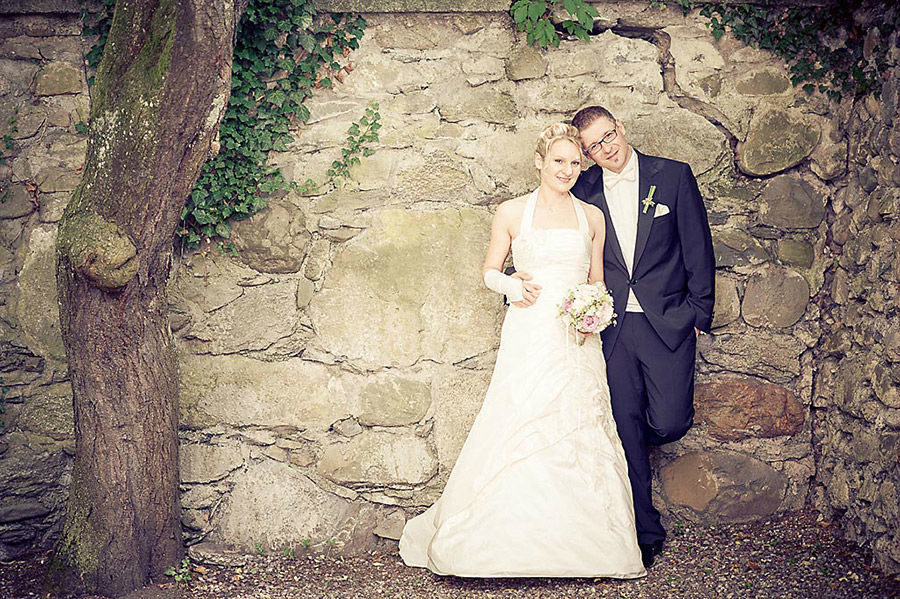 Foto des Brautpaares, Foto: Alexander Volmar.