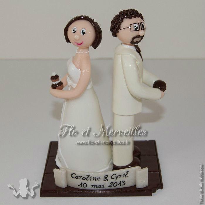 Figurines de mariage personnalisées d'après photos ou descriptif
