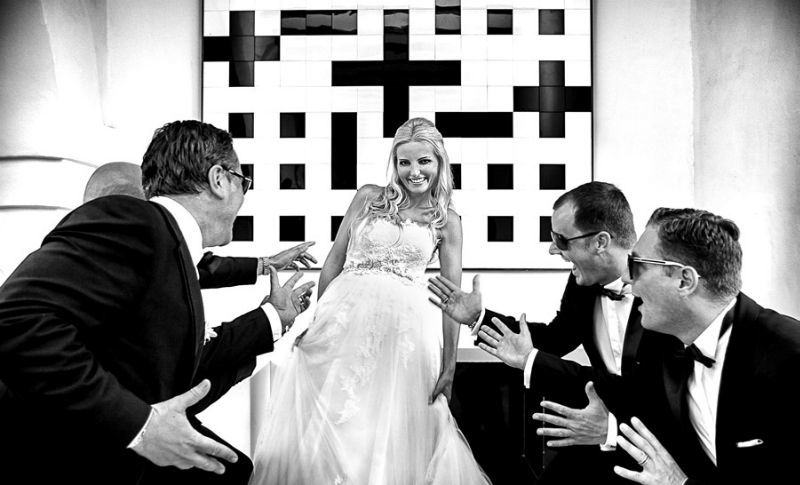 Beispiel: Individuelle und kreative Hochzeitsfotografie, Foto: raman weddings.