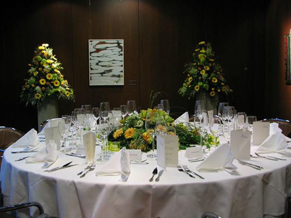 Beispiel: Blumenschmuck für Ihre Hochzeit, Foto: Blumen Kamm.