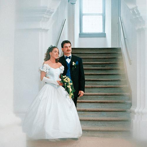 Beispiel: Brautpaar, Foto: Schloss Achberg.