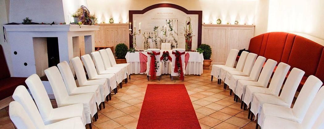Beispiel: Trauung im Hotel, Foto: Hotel Antoniushütte.