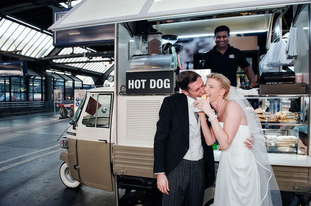 Beispiel: Kreative Hochzeitsfotos, Foto: Weddingpix.