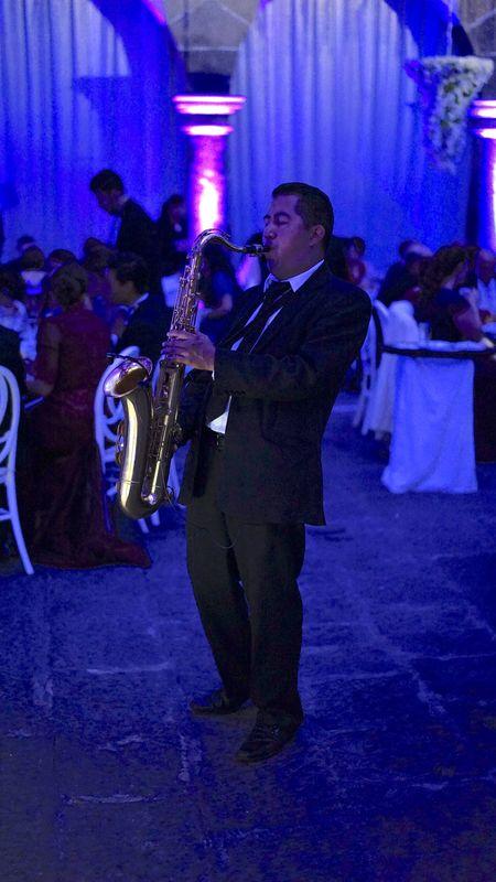 Saxofón en Puebla
