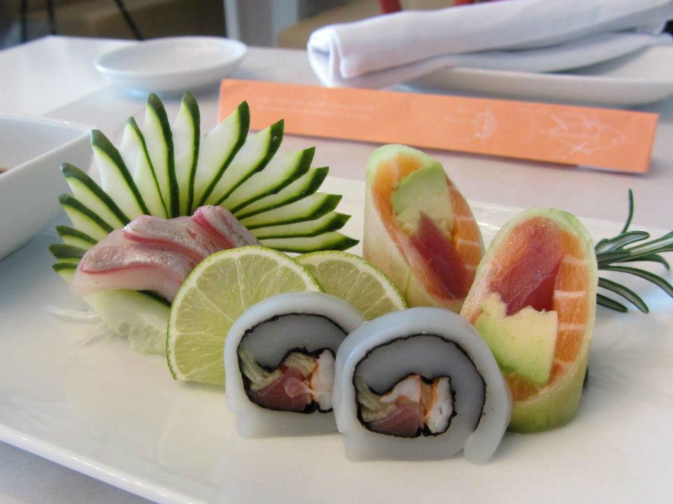 Coral a Sushi Concept