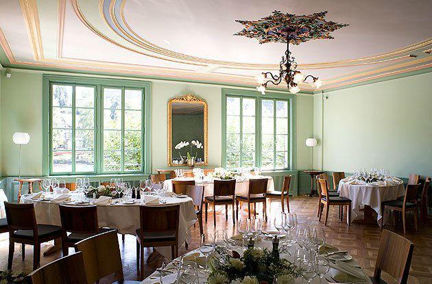 Beispiel: Belle Epoque Saal, Foto: Gasthof Hirschen.