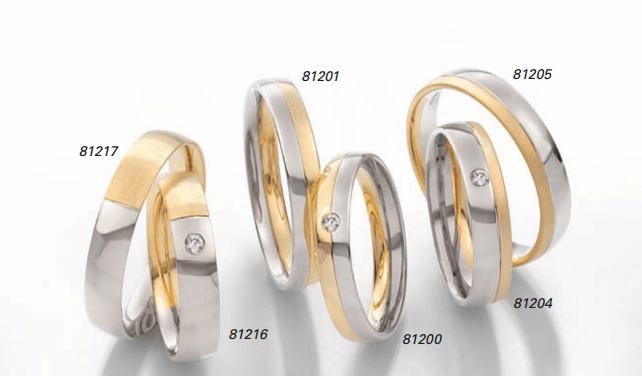 Beispiel: Eheringe, Foto: Juwelier Bichler.