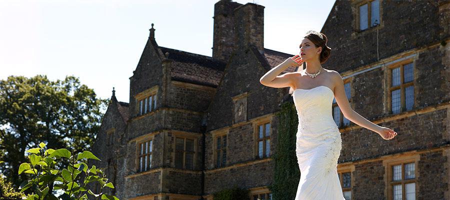 Beispiel: Finden Sie das Kleid für Ihren großen Tag, Foto: Brautmoden Felice.