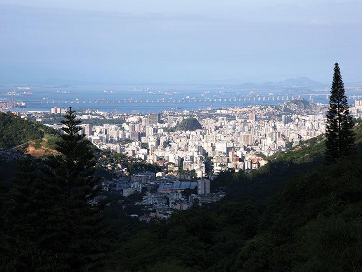 Vista Mansão Rosa