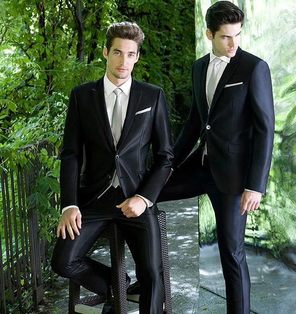 Beispiel: Anzüge für Herren, Foto: Milano Männermode.