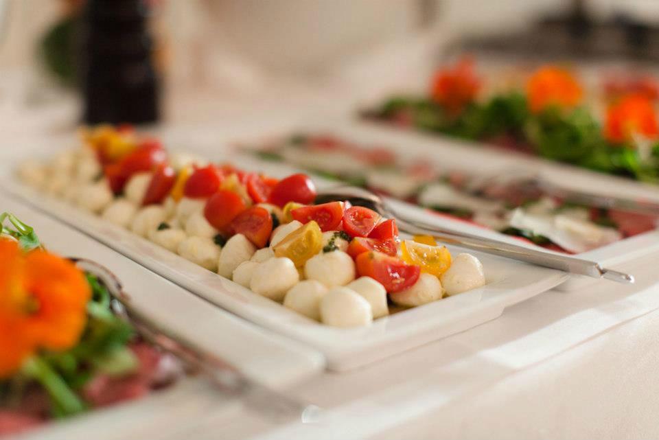 Beispiel: Feines Catering, Foto: Kursalon Mödling.