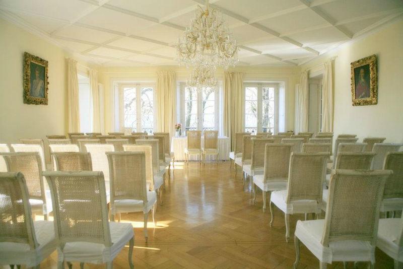 Beispiel: Trauzimmer, Foto: Klostergut Besselich.