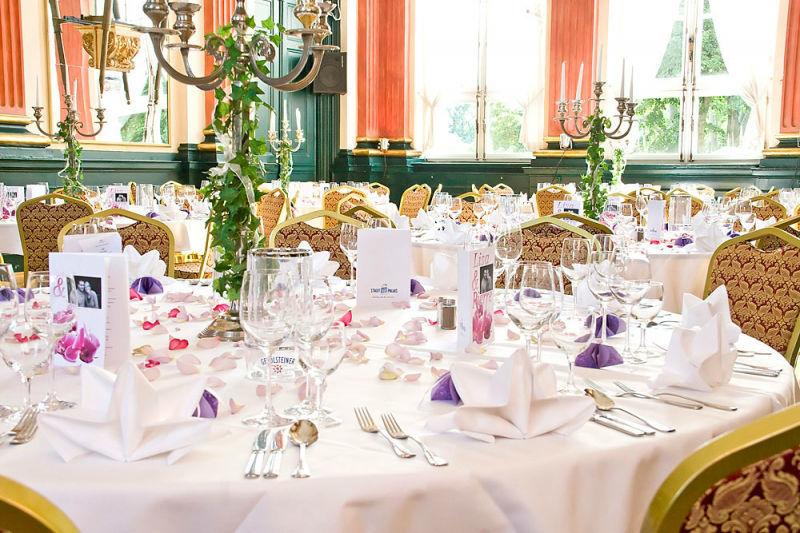 Beispiel: Hochzeitstisch, Foto: Stadtpalais Celle.