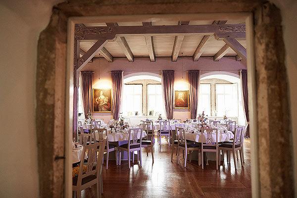 Beispiel: Rittersaal, Foto: Wasserschloss Hülsede.