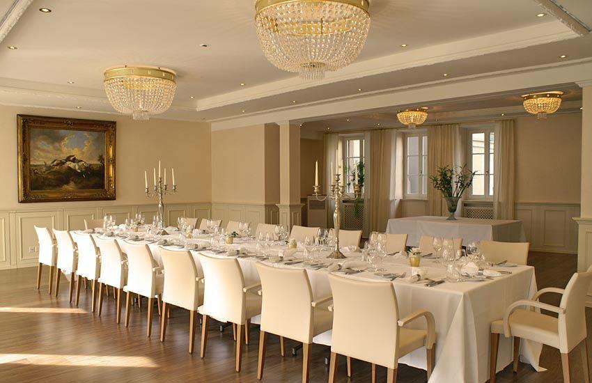 Beispiel: Hochzeitstafel, Foto: Hotel des Balances.