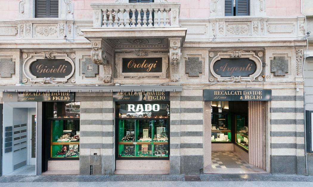 Gioielleria Recalcati a Bergamo in Viale Papa Giovanni.