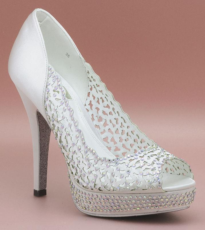 Zapato de novia enepe Carlota
