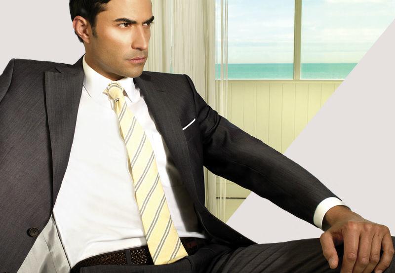 Beispiel: Anzüge und Co. für jeden Anlass, Foto: Bäumler Fashion.