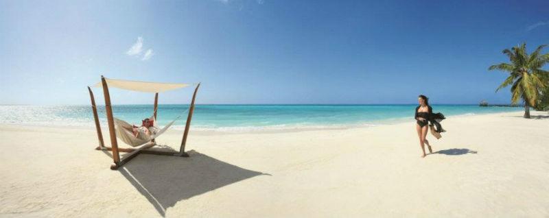 Romantische Flitterwochen an Traumstränden, LUX* Maldives