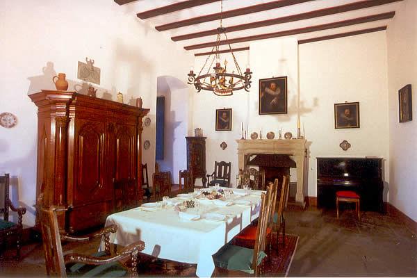 Beispiel: Speisesaal, Foto: Schloss Gemünden.