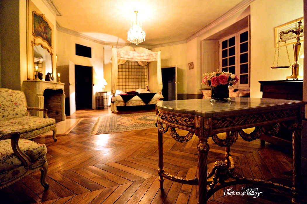 Ch teau de vallery mariage for Prix chambre chateau vallery