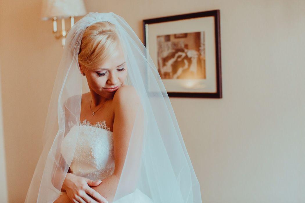 Анна.нежный образ невесты всегда в фаворите
