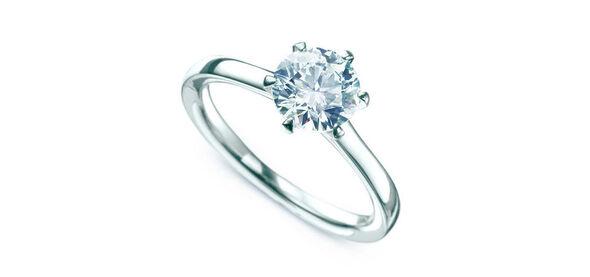 Beispiel: Verlobungsring, Foto: Juwelier Schumacher.