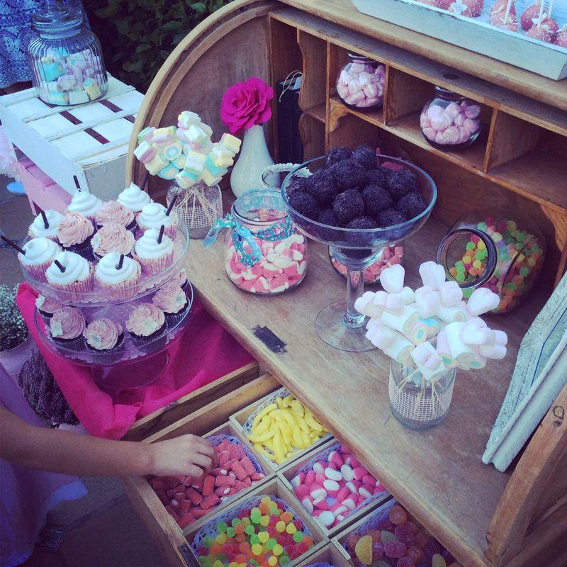 Candy Bar boda.