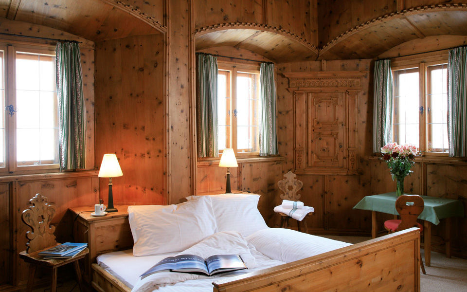 Beispiel: Zimmer, Foto: Jagdschloss Kühtai.