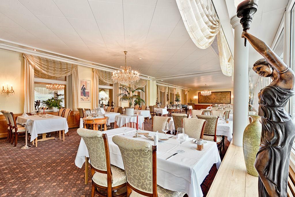 Beispiel: Restaurant, Foto: Belvédère Strandhotel & Restaurant.