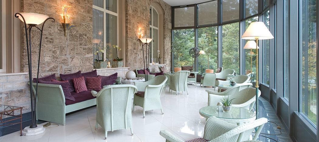 Beispiel: Wintergarten, Foto: Cresta Palace.
