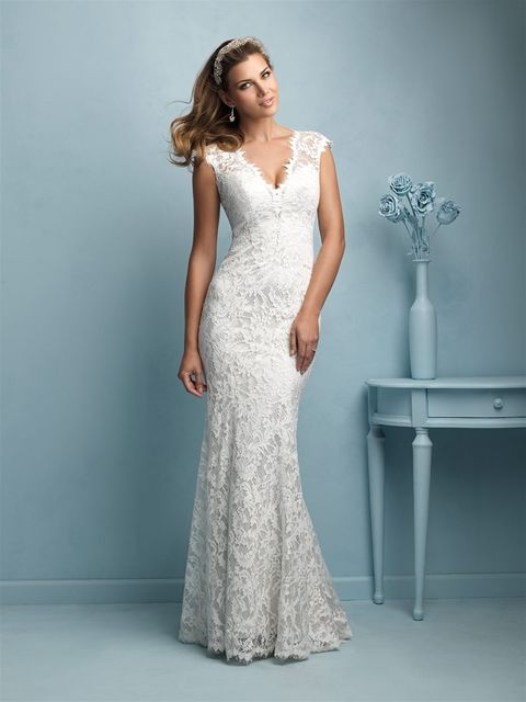 Marca: Allure Bridals. Modelo: 9206.