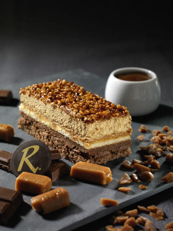 Croquant Caramel - Pâtisserie La Romainville