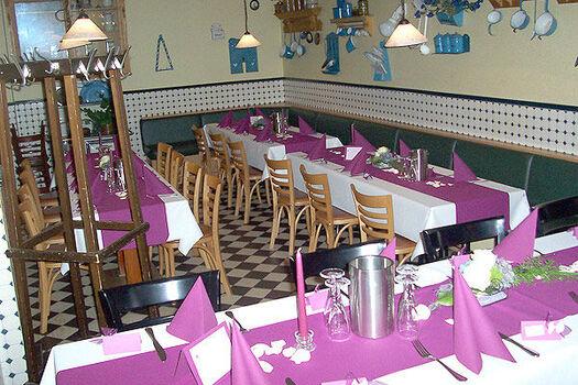 Beispiel: Restaurant - Tafeln, Foto: Stresemann´s Gasthaus.