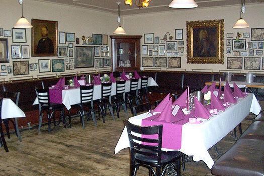 Beispiel: Restaurant - Bestuhlung, Foto: Stresemann´s Gasthaus.