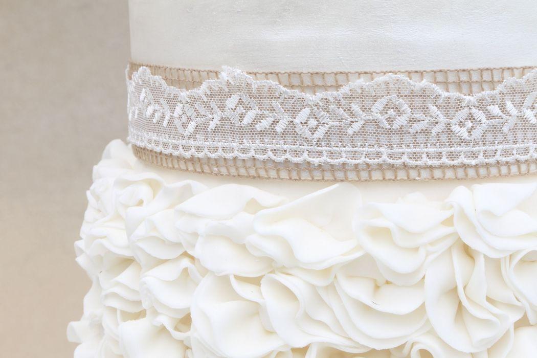 Torta Nuziale Country Chic - Wedding Cake