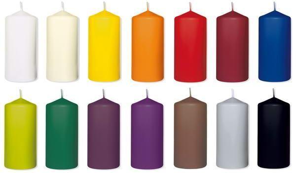Beispiel: Kerzen, Foto: Baumann Floristik und Dekoration.