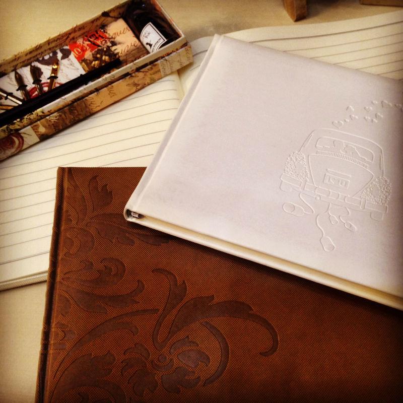 Libros p/firmas de invitados