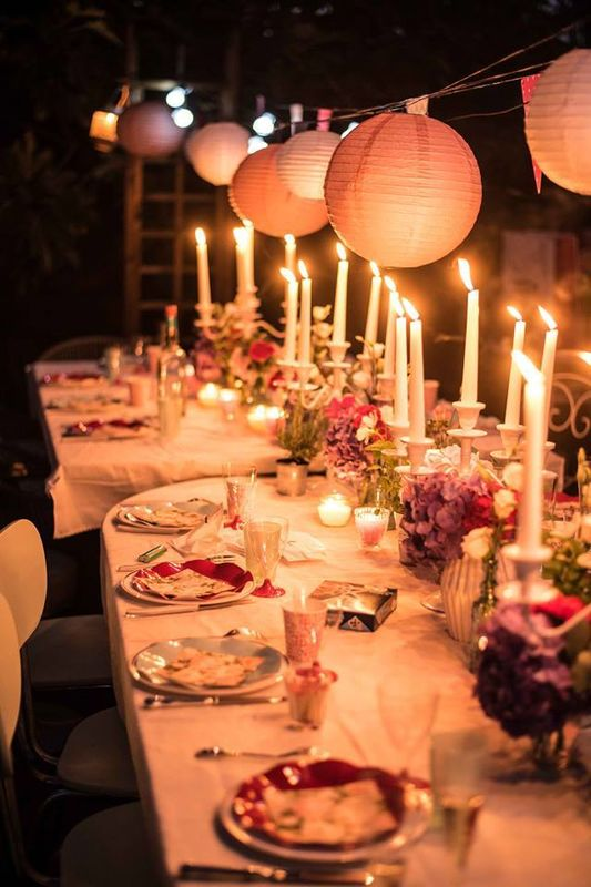 Table banquet Crédit Photo : WeddingHouse