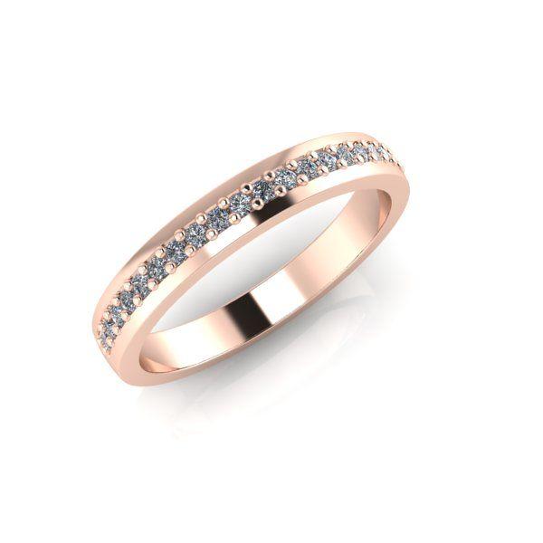 Lanfossi Gioielli - Fede Eternel in oro rosa 18 k e Diamanti