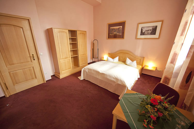 Beispiel: Hotelzimmer, Foto: Schloss Boitzenburg.