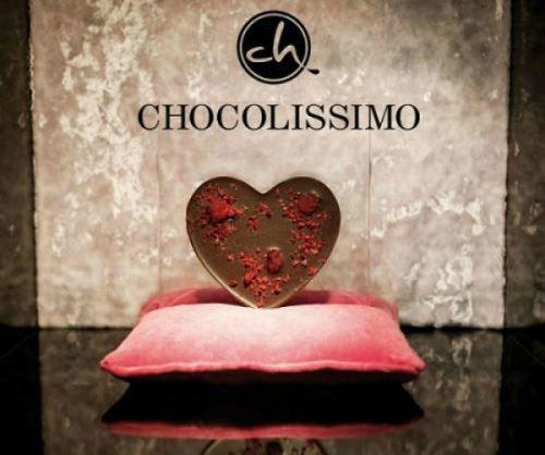 Beispiel: ChocoHerz mit Himbeeren, Foto: Chocolissimo.