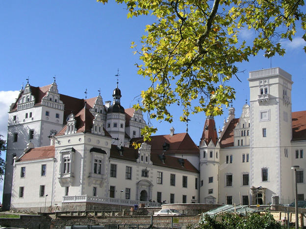 Beispiel: Außenansicht, Foto: Schloss Boitzenburg.