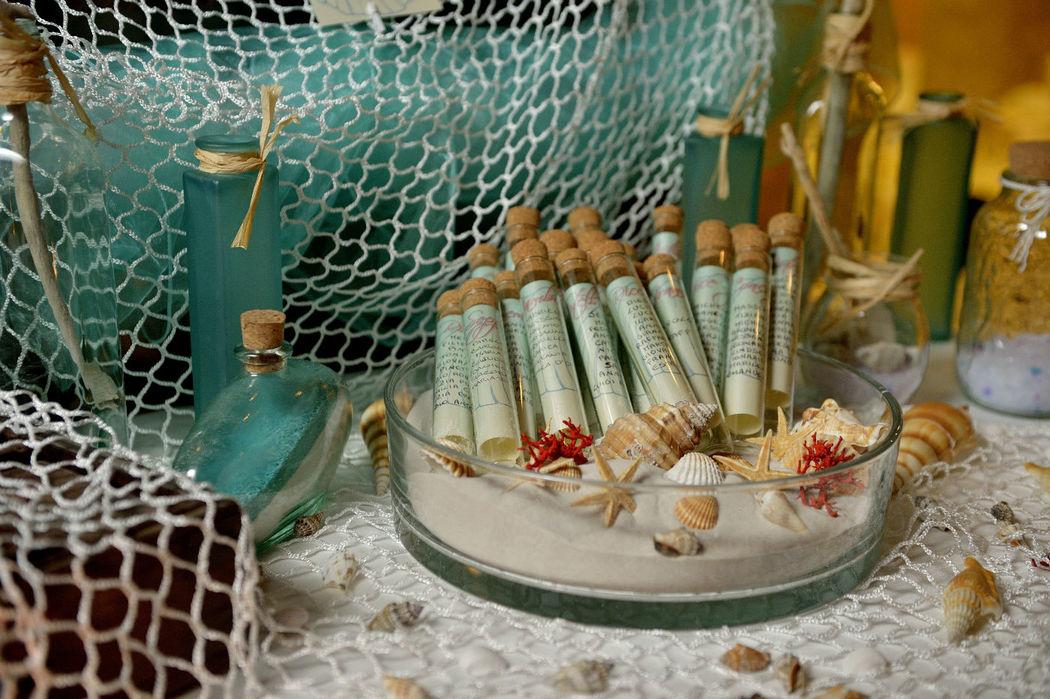 Dettagli di un Tableau de mariage alternativo: pesca il tuo posto!