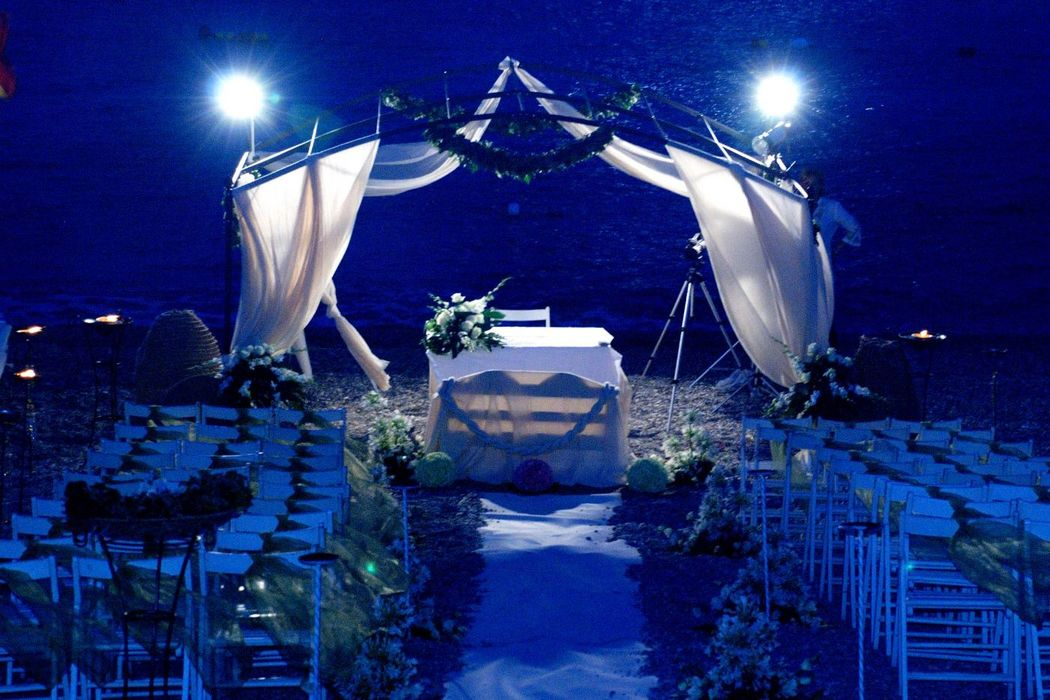 Wedding on the Moon - Sposarsi in spiaggia