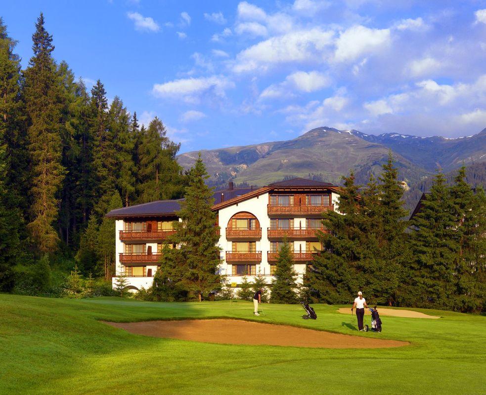 Aussenansicht vom Golfplatz Exterior view from the golf course