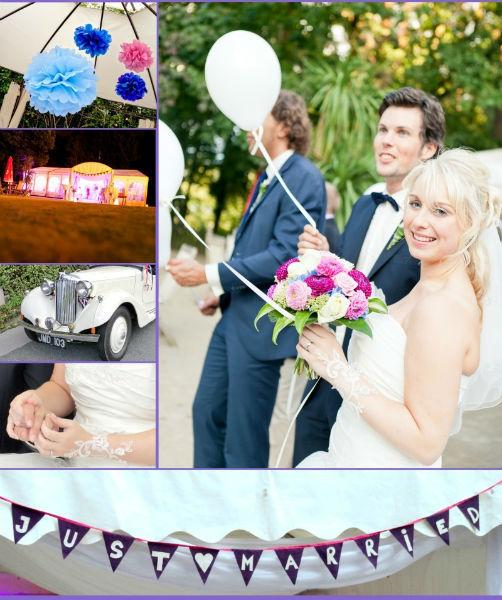 Beispiel: Rundum-Service bei der Hochzeitsplanung, Fotos: magnoliawedding